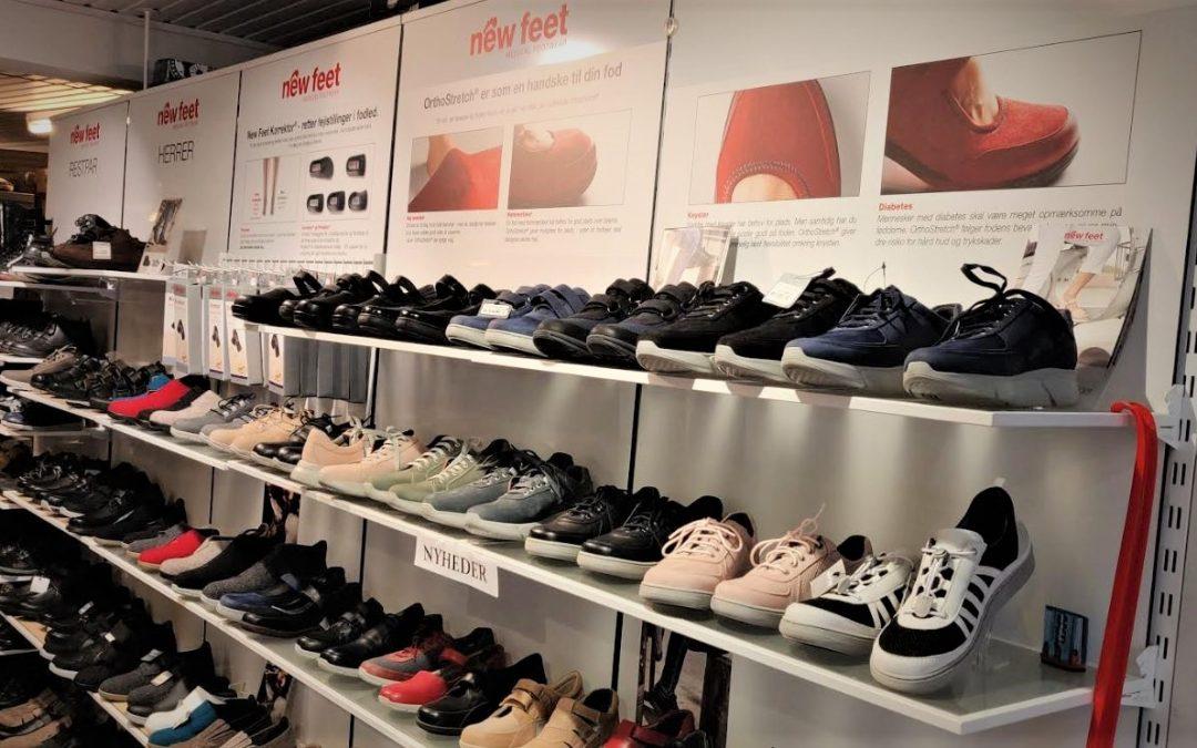 Zigentti vieraili pienen tanskalaiskylän kenkäkaupassa, joka on yksi maan suurimmista New Feet -jälleenmyyjistä