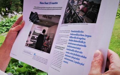 Podoprintti-lehti: New Feet 15 vuotta – Miten jalkahaavapotilaiden hoitojalkineista aloittaneesta pienestä tanskalaisfirmasta kasvoi maan neljänneksi myydyin kenkämerkki?