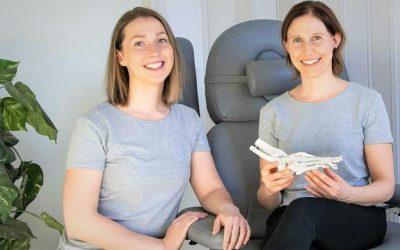 Emma ja Pia toivat Jalkaterapia ILO:n ja New Feetit Espoon Matinkylään