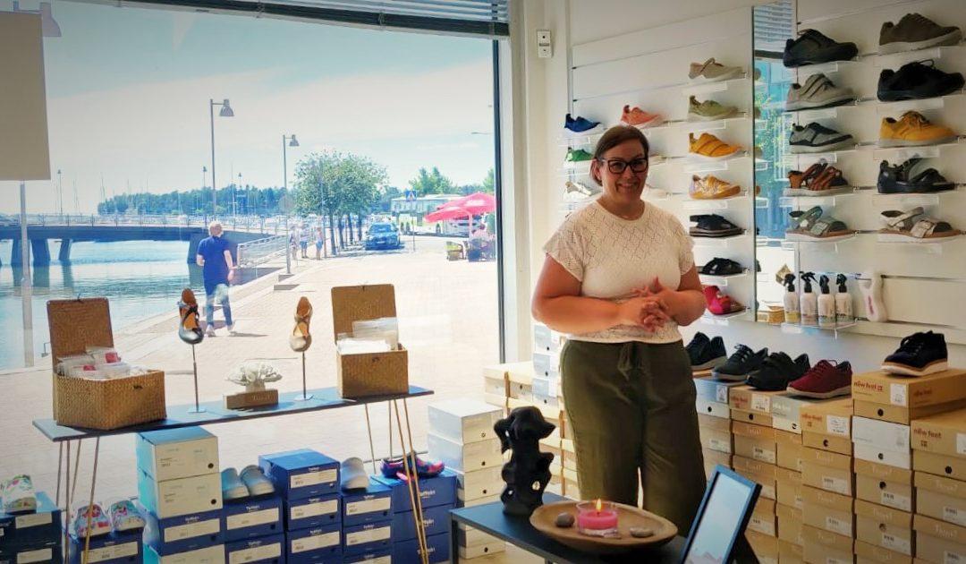 Jalkaklinikka.com laajensi Helsingin Herttoniemenrantaan – Johannalta löytyvät niin Thinkit kuin New Feetitkin